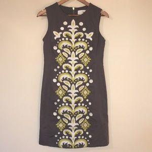 Tabitha Embroidered Sheath Dress  | Anthropologie